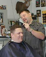 Darrell's Barber Shop storefront | Purcellville, VA